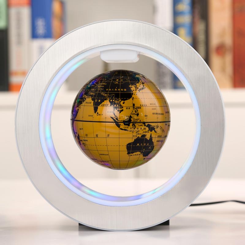天屿磁悬浮地球仪发光自转办公室装饰摆件创意生日礼品男生礼物