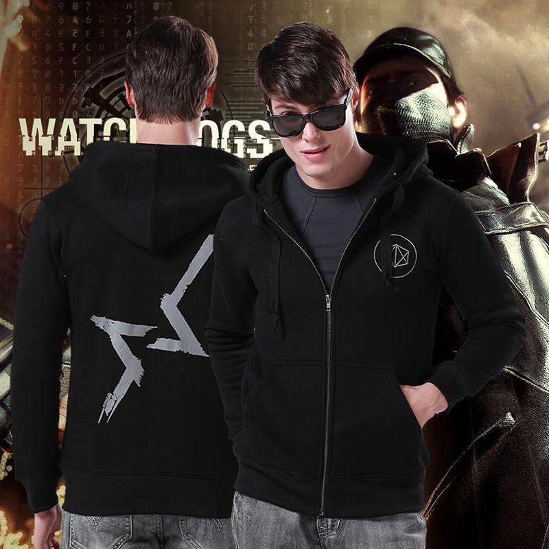 Usd 50 02 Watch Dog Sweater Watch Dogs Hoodie Coat Game Peripheral