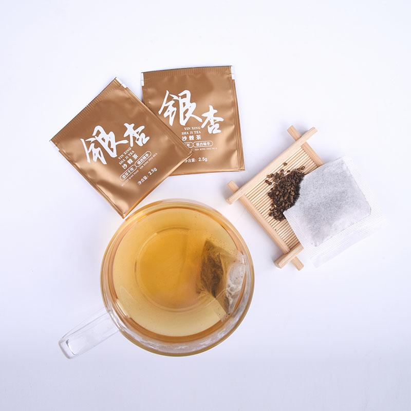 万松堂银杏黄精茶沙棘茶银杏叶白果茶桑葚茶三降茶高茶黄金压茶