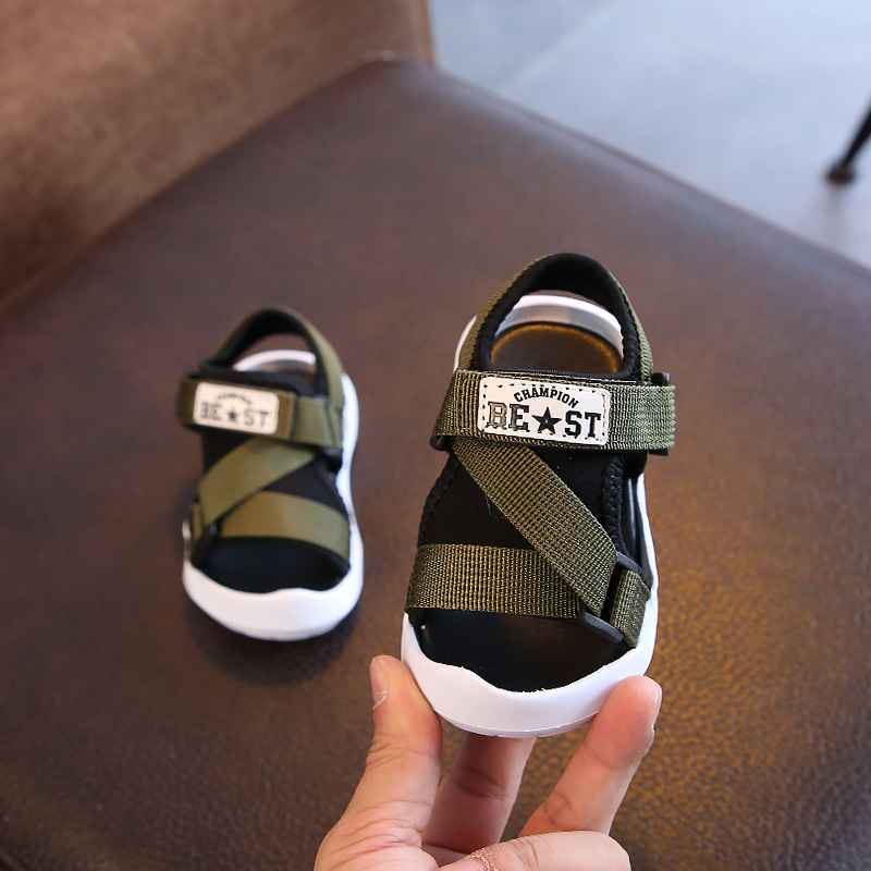 59621270f1a USD 19.21  Baby sandals boys 1-2 a 3-year-old Summer children Baotou ...