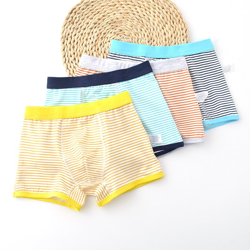 【5条装】纯棉内裤中大童平角裤男