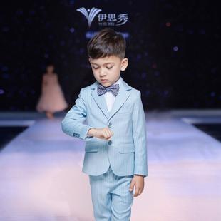 儿童西装套装小花童礼服钢琴演出服