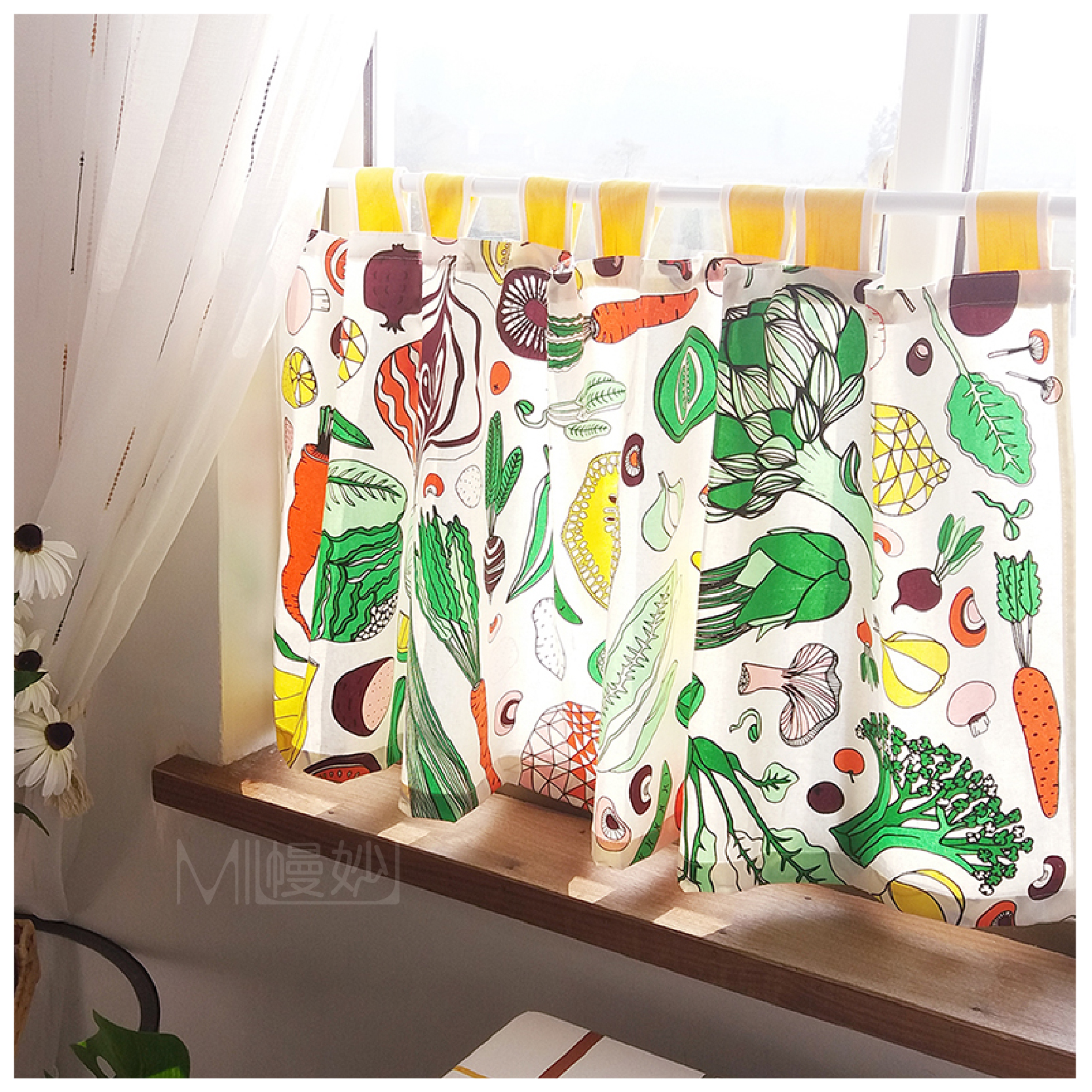 Usd 11 18 Kitchen Curtain Short Curtain Partition Feng Shui