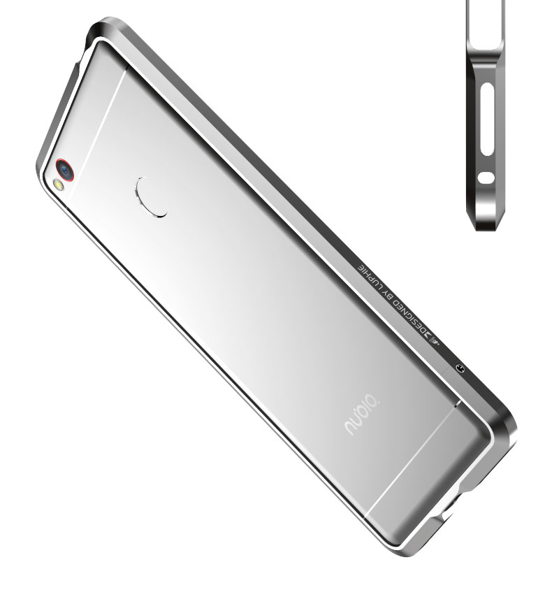 Luphie Blade Sword Slim Light Aluminum Bumper Metal Shell Case for nubia Z11