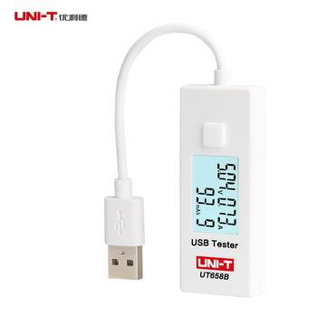 优利德USB电流电压容量检测试仪表