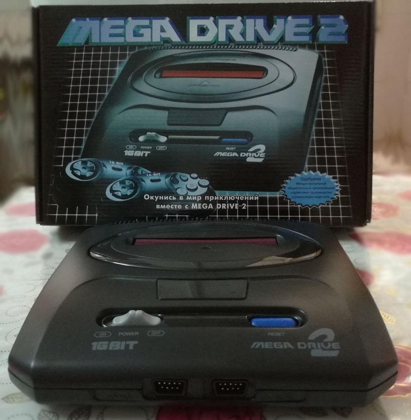 品质原装SEGA MD2世嘉黑卡电视游戏机硬解N制 分区按键兼容烧录卡