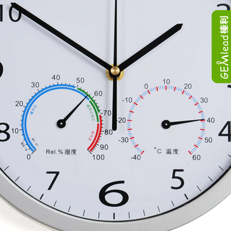 Мелкая бытовая техника Хейзел ли немой настенные часы часы стол термометр гигрометр Европейский пастырской гостиной стильный c1003