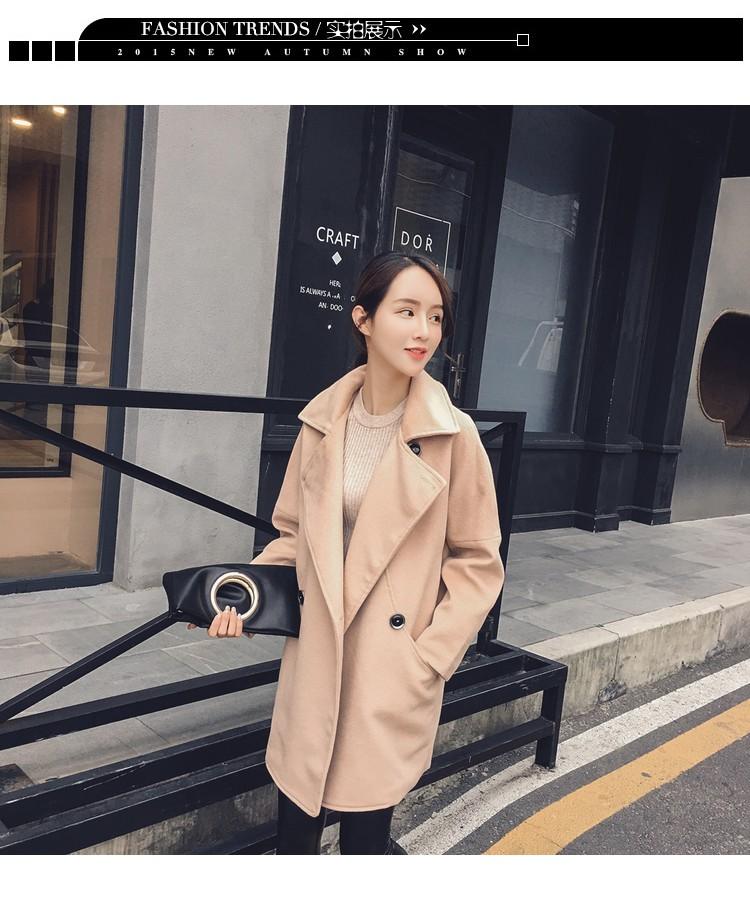 雅佳俏,2016新款冬装,毛呢外套,风衣,
