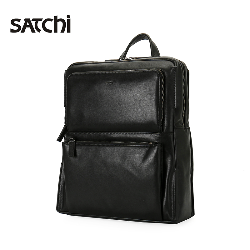 7b3d959fab6c Satchi Sha Chi backpack Leather Men s bag fashion motorcycle backpack men s  first layer leather bag travel · Zoom · lightbox moreview · lightbox  moreview ...