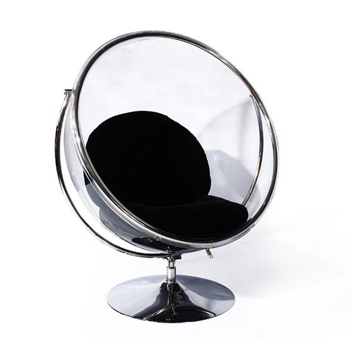 Beau Bubble Space Ball Chair Transparent Acrylic Dome Single Leisure Balcony  Swing Specials Bubble Chair