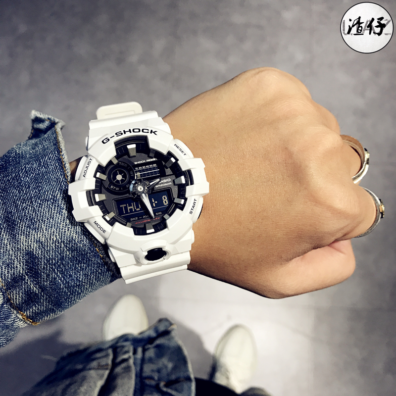 4195c11509b CASIO Casio G-SHOCK Waterproof Watch GA-700-1B 4A 7A GA ...