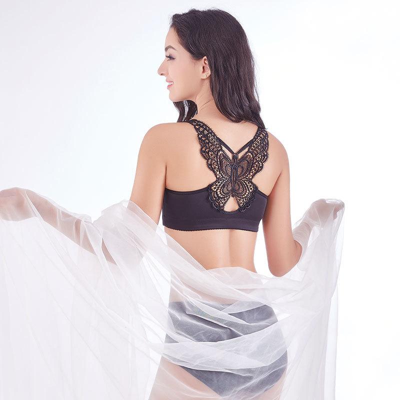 23b9a5d1ca2 Large size bra fat mm gather 200 kg beautiful back gather underwear ...