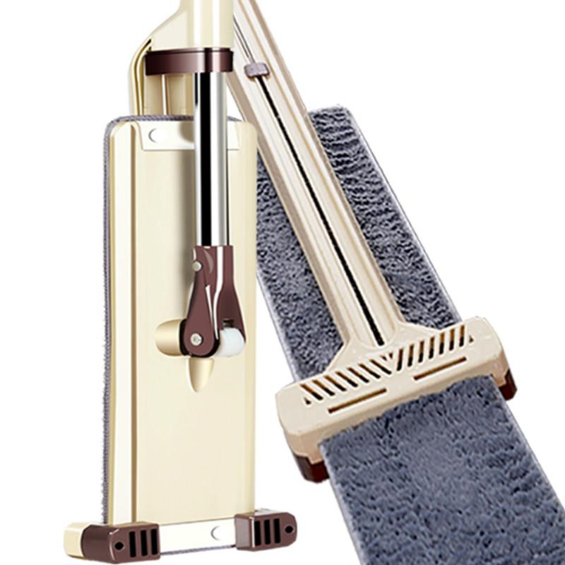 網紅拖把免手洗家用平板托把干濕一拖兩用墩布凈懶人旋轉拖地神器