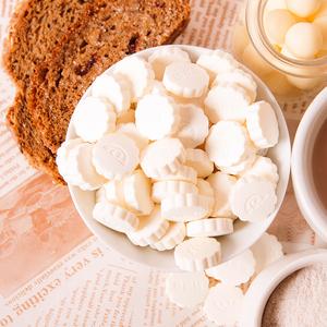 草原情内蒙古特产奶片原味牛奶贝儿童干吃奶糖片奶贝250g