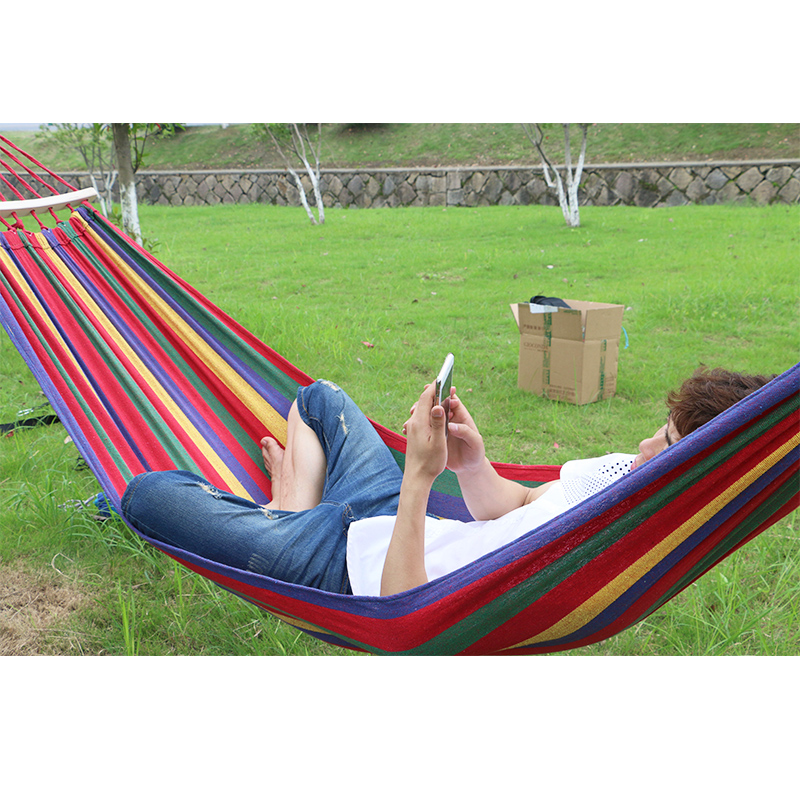double outdoor hammocks person cotton hammock product backpack honesh with leisure camping ultralight