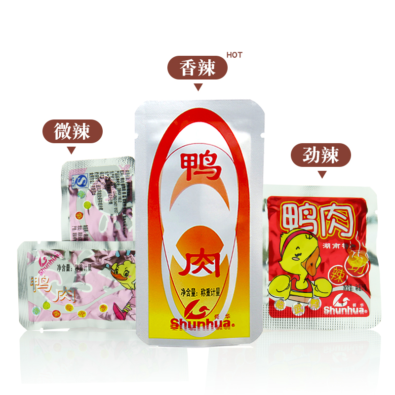 舜华临武鸭即食零食500g