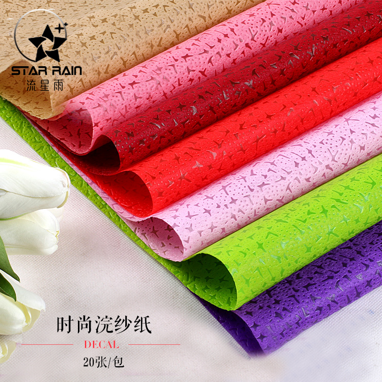 Usd 704 huan yarn paper waterproof bouquet wrapping paper rose huan yarn paper waterproof bouquet wrapping paper rose flowers wrapping paper floral material flower shop package mightylinksfo