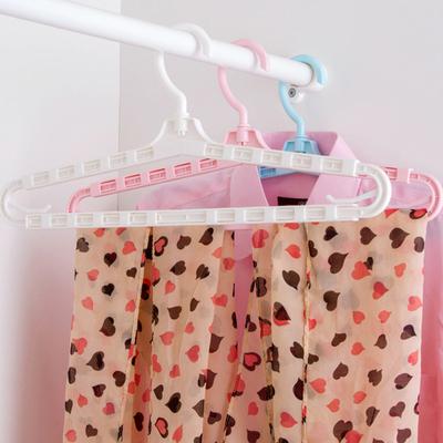 加长可伸缩被套被单衣服挂衣架 家用塑料成人儿童婴儿浴巾晾衣架