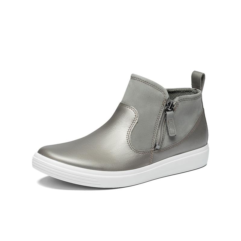 ECCO 爱步 Soft Classic柔酷系列 侧拉链女式短靴 5.6折$67.07 两色可选 海淘转运到手约¥528
