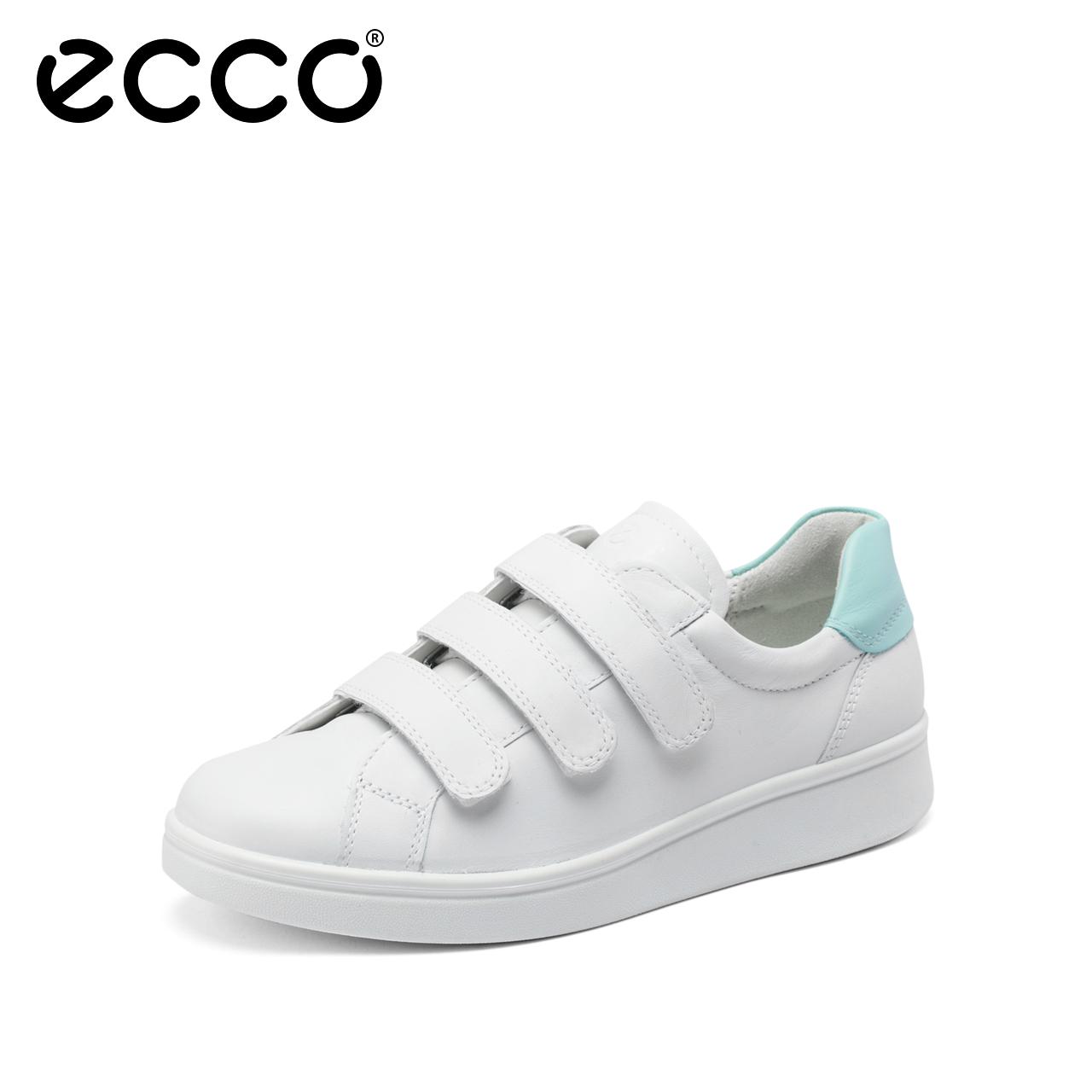 ECCO 爱步 Soft 4 柔酷4号 三魔术贴 女式休闲鞋 38码$54.43 海淘转运到手约¥475 天猫¥1399