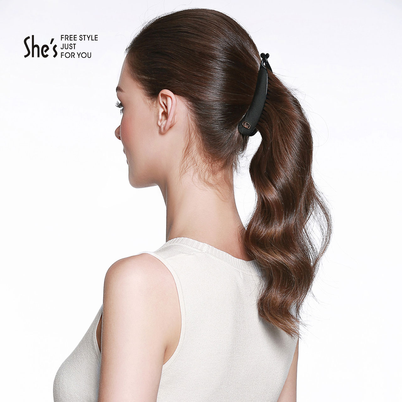 Usd 3474 Shes Si Zi Hair Accessories Simple Solid Color Banana