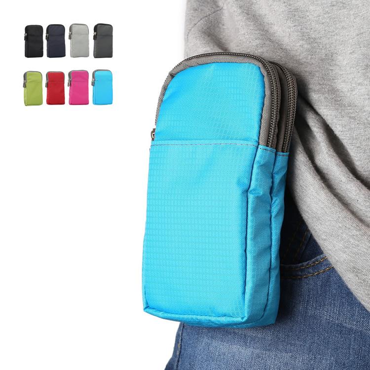 Điện thoại di động treo thắt lưng túi đeo đai đeo túi vải nam và nữ đa chức năng giải trí ngoài trời thể thao chéo túi nhỏ 5,5 inch 6 - Túi