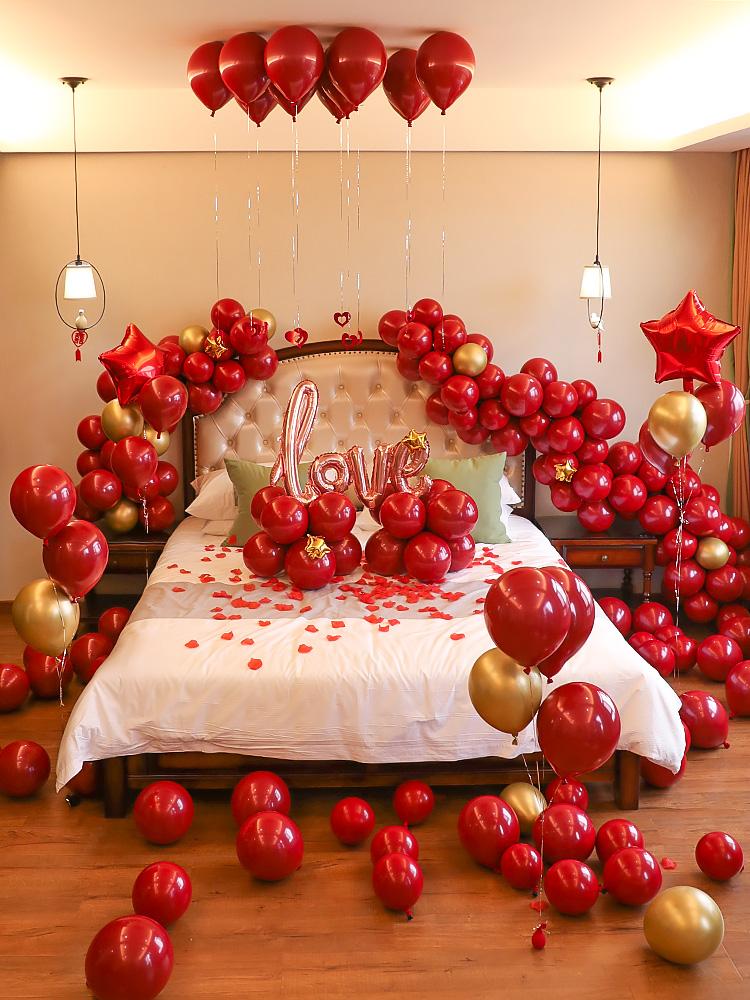 婚房装饰结婚气球套餐,各种结婚礼物