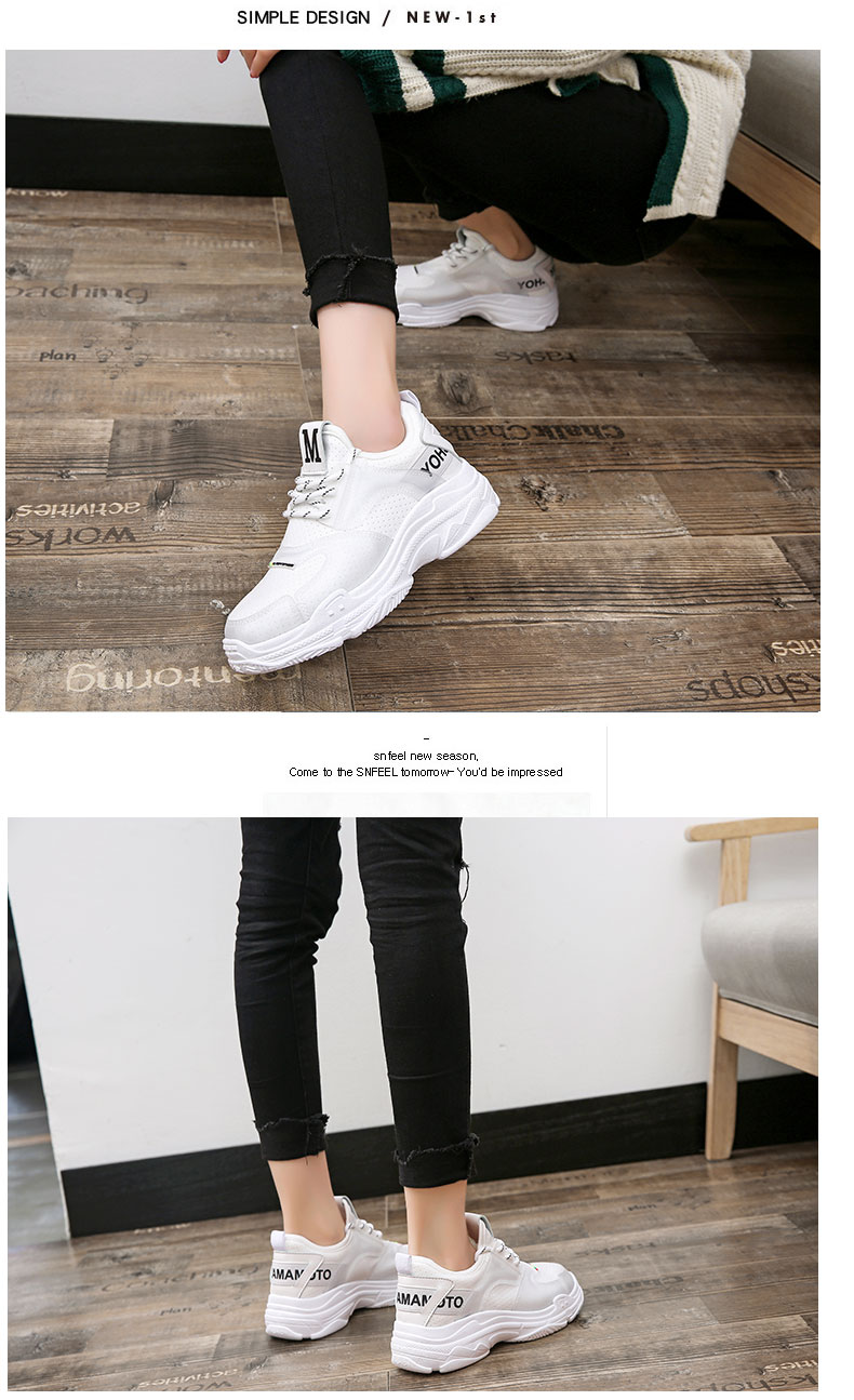 2018 summer new casual shoes female students fashion wild Harajuku ulzzang flat shoes women breathable 68