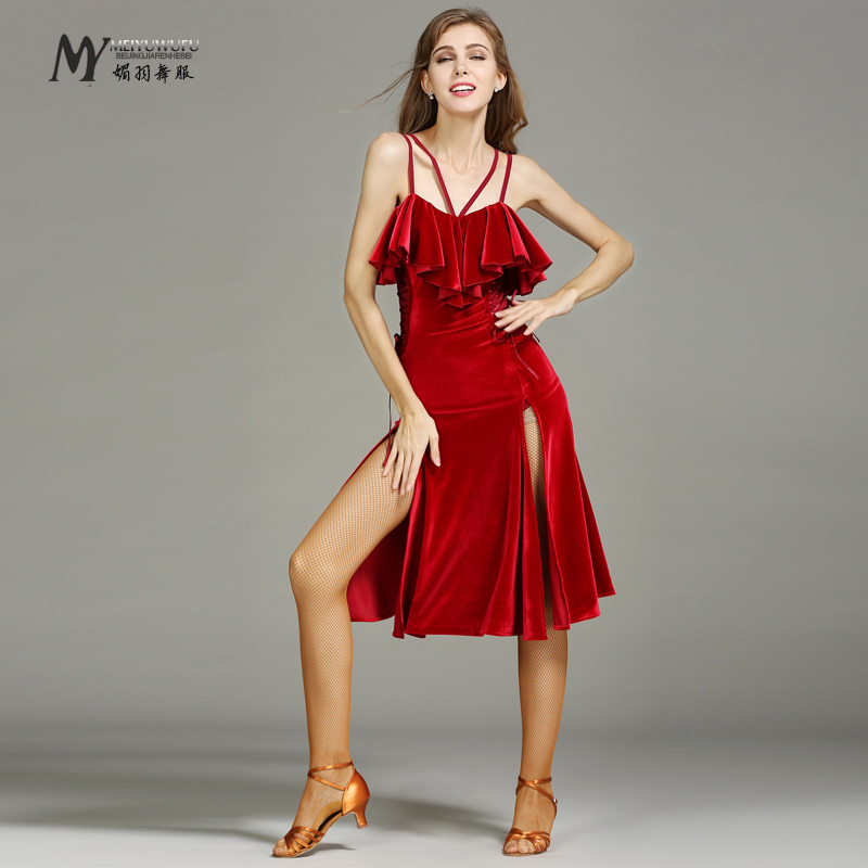 Charming Adult women/'s Lady/'s Latin dance dress