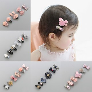 Children's hair accessories baby hairpin princess baby hairpin does not hurt sweating hair clip fetal hair pinner girl small card headdress