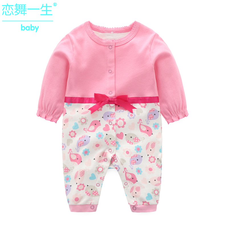 e821bb75e USD 24.38  Baby Spring Summer Autumn cotton 0-1 years old female ...