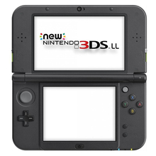 NEW 3DS LL palm game console A9LH crack full game
