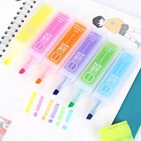 Конфеты большой потенциал флуоресцентный ручка корея канцтовары студент использование вес точка марк карандаш цвет пометка карандаш граффити карандаш