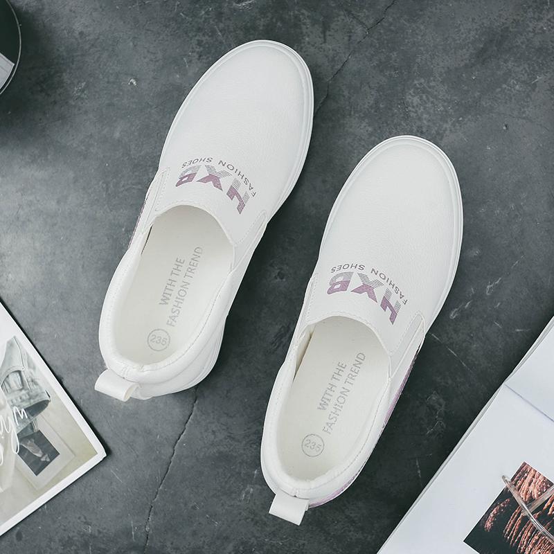 圣罗兰ysl春季新款内增高小白鞋女UPZ958