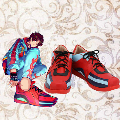 taobao agent A435 Paradox Live Suzaku Wild Allen COS shoes COSPLAY shoes customized with pictures