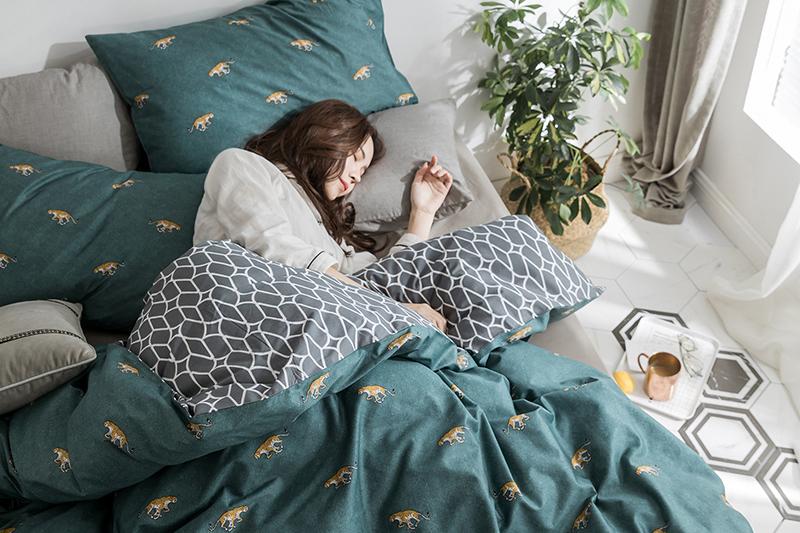 精致温馨的生活,床上四件套要选好