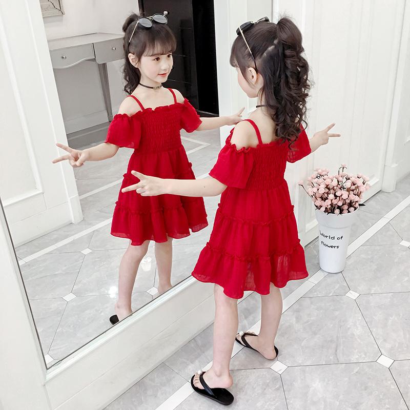 夏装连衣裙2020新款女童儿童装裙子女孩夏季公主网红夏款洋气夏天
