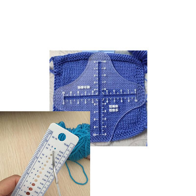 Knitting tool measuring yarn sample density ruler creative accessories for sweaters Zhaoerruyue knitting