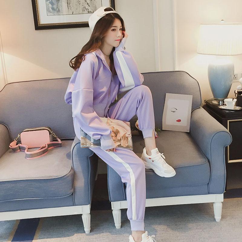 姐妹闺蜜装女生春装两件套韩版初中学生一套衣服春天百搭时髦套装
