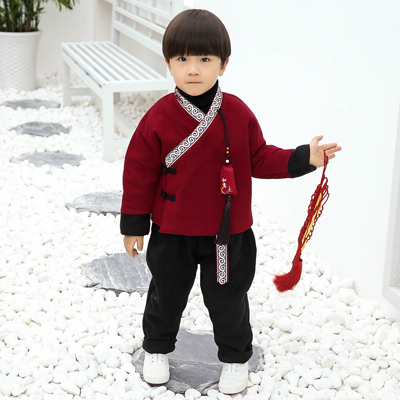 44dba1626 Children New Year festive baby boy Tang suit winter suit Chinese style Girl New  Year clothes. Zoom · lightbox moreview · lightbox moreview · lightbox ...