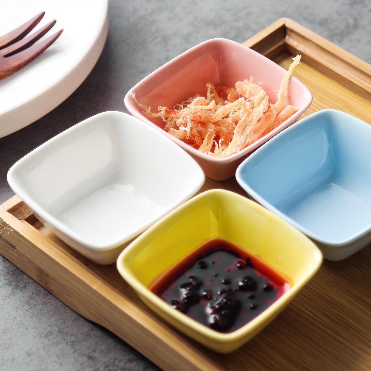 Hộ gia đình sáng tạo món ăn nhỏ món ăn đơn giản Bộ đồ ăn Bắc Âu nước sốt giấm dấm món ăn nhúng nước sốt món ăn gia vị món ăn - Đồ ăn tối