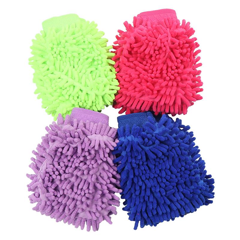 双面除尘手套家务清洁桌面缝隙洗车手套汽车打扫灰尘擦车清洗手套