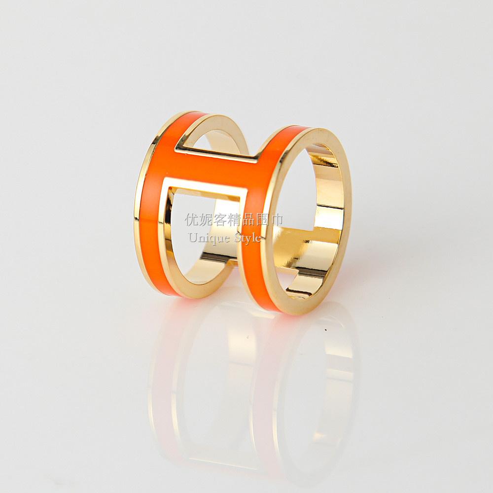Цвет: Оранжевый оранжевый H-образной пряжкой 2.1