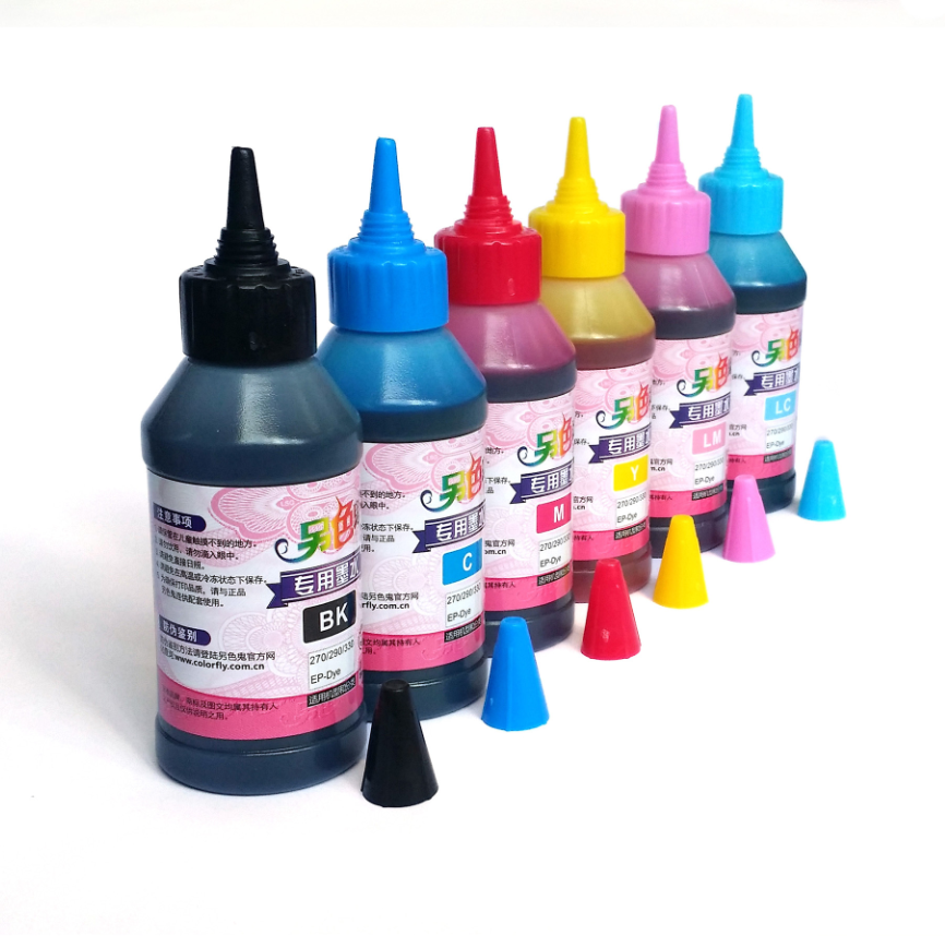 Another color ghost ink for Epson L800 L801 L810 L805 L1800 printer  compatible ink for image ink T674 ink ink cartridge six-color fill ink