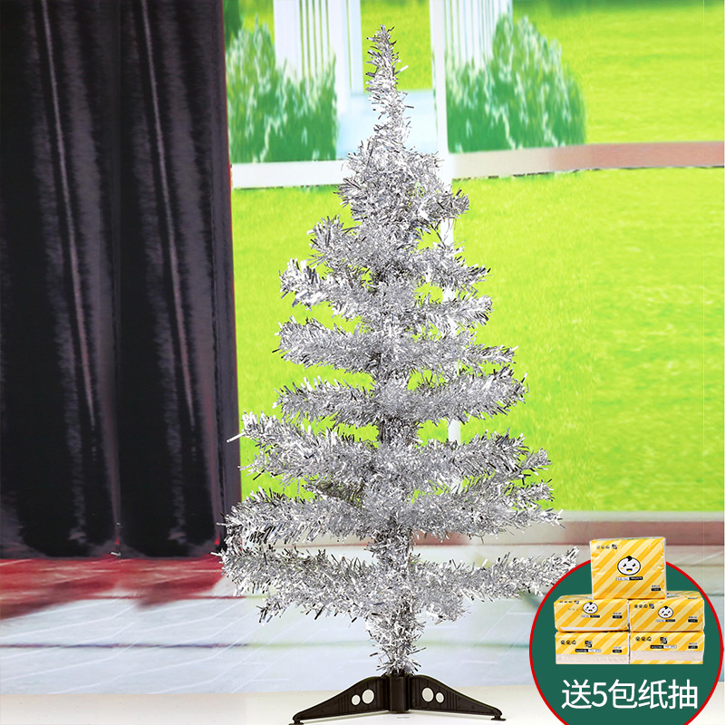 Christmas 60cm1 5 meters 1 8 meters Christmas tree package Home small mini encryption large luminous decorations
