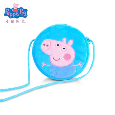小猪佩奇 抖音同款公仔毛绒玩具斜挎包
