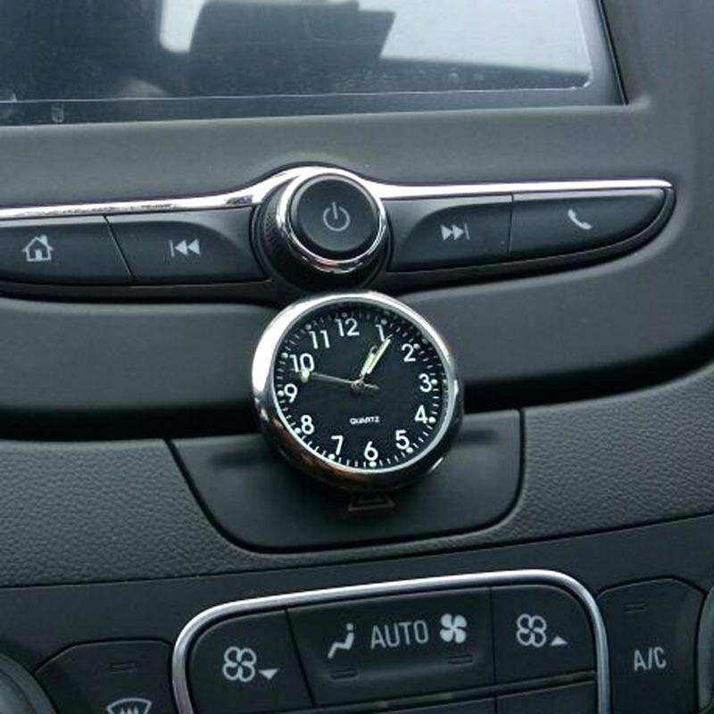 Автомобиль часы автомобиль кварц автомобиль часы серебристые новый горячей автомобиль кварц электронный колокол статьи