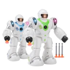 智能机械战警电动儿童男孩女孩玩具