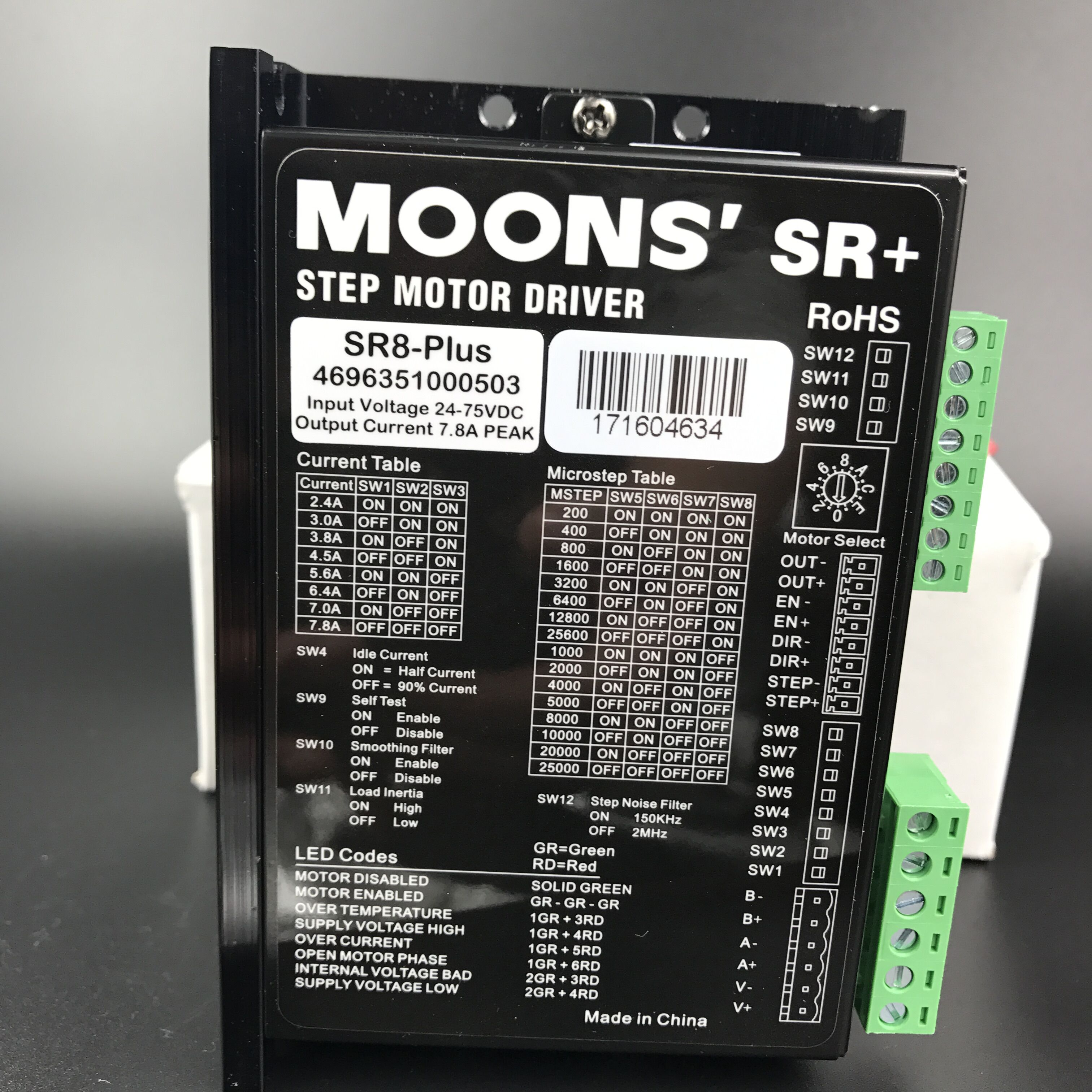 Stepper Drives Moons/'  SR8