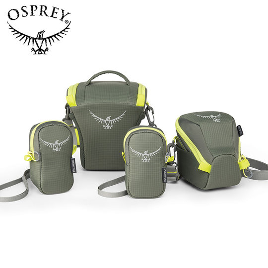 OSPREY CAMERA CASE SLR Camera Accessories Bag Photography Bag Travel Attachment Zipper Opening and Closing